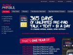 Red Bull Pre-Paid Unlimited Calls/SMS 5GB a Month, $365/Year + $1.00 for HTC Explorer