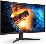 "AOC CQ32G2E 31.5"" WQHD Curved 1ms 144Hz Freesync Gaming Monitor Centre $399 Delivered @ Centrecom"