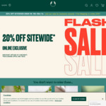 20% off Site Wide + $8.95 Shipping ($0 with $79 Spend) @ The Body Shop