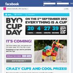 7-Eleven BYO Cup Day for Slurpees - 5th September 2012 - $2.90