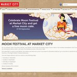 Free Moon Cake at Market City, Sydney (Need to Register for Their Database)