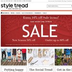 Further 10% off Sale Items at Styletread