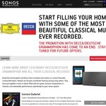 Free 10 Track Decca Classical Music Compilation - 192K MP3 Download (SONOS Promotion)