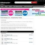 Grand Designs Live - Complientary Tickets MEL/SYD October 2013