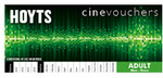 Hoyts Cinevouchers Valid Mon-Thurs (Expiry March 31st, 2014) - $6 Each