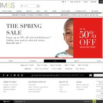 M&S - Up to 50% off Sale, Free Delivery for Orders over £30, £5 off £30 Order of Lingerie