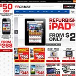 Refurbished iPhones $50 off @ EB Games