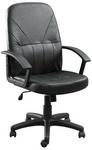 $79 - Jasonl Condor Genuine Leather Managerial Chair - 5 Yr Warranty - 50%off + Shipping