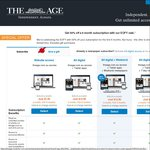 50% off All Subscriptions to The Age and SMH for 6 Months Starting from $7.50/Month