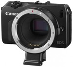 Canon EOS M Body Only + EF Lens Adapter for $264.95 @ Teds after $50 cashback from AMEX