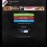 Domino's Pizza Extra Value Range $5.95 or Traditional Pizza $6.95 or Chef's Best $7 - Pickup Only