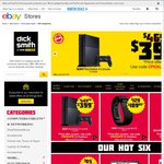 PS4 Console $399, Samsung Galaxy S6 $789, Note 4 $679/ Edge $727, Logitech UE Boom $139 @ Dick Smith eBay