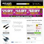 Altech PVR 9600 Triple Tuner by UEC $167.40 @ Dick Smith