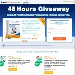 FREE: EaseUS Partition Master Professional v10.8 (Was $40)