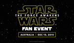 [SYD] Free Tickets to Star Wars Fan Event with Harrison Ford on 10th December