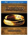 Lord of The Rings Trilogy: Extended Edition Blu-Ray Box Set $48.50 AUD Delivered @ Amazon