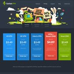 CactusVPN - VPN + SmartDNS - 54% Off - US$38.49 (~AU$50.45) Annually