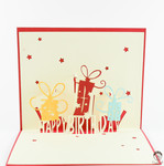 3D Pop up Love, Birthday, Wedding, Anniversary and Congratulations Cards - Free Shipping + 25% off @ Craft Land