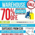 [VIC] Samsonite Half Yearly Warehouse Sale up to 70% off