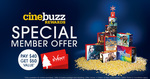 20% off: $50 Event Cinemas Gift Card for $40 [Cinebuzz Required] Via ExperienceThis