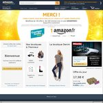 €10 off €50 Spend @ Amazon France/Italy e.g. Crucial MX300 525GB SSD €102.59 (~AU $148) Delivered