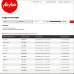 AirAsia Travel within Malaysia for ~ $5 One Way and to International Cities from Just $100 (Melbourne $170 O/W)