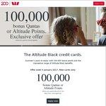 Westpac Altitude Black AmEx/Mastercard 100,000 Qantas Points/Altitude Points, 2 Qantas Club Passes [$395 Fee]