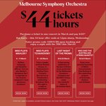 [VIC] Melbourne Symphony Orchestra - All March Concert Tickets (Other than Premium) Discounted to $44 (Was up to $119)