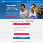 1 Month Free NBA League Pass Game Choice (Save $13.99)