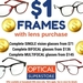 $1 Frames with Lens Purchase @ Optical Superstore Sunnybank Hills QLD (Complete SV from $71, Complete MF from $145)