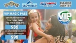 VIP Theme Park Pass (Movie World, Sea World, Wet N Wild, Paradise Country) - $75.65 @ Groupon (Via App)