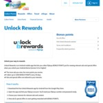 Unlock Rewards App - Earn up to 2000 Bonus Flybuys Points for The First Month by Viewing Ads