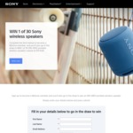 Win 1 of 30 Sony SRS-XB10 Portable Wireless Speakers Worth $79 from Sony