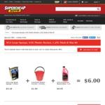 SCA Combo - Bucket, Sponge & Wash N Wax 1.25 Litre $6 @ Supercheap Auto