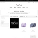 $20 off Full Price Purchase SABA in-Store or Online
