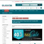 Olight Australia Black Friday Sale - up to 40% off until 28th November