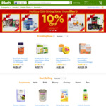 5% off Sitewide ($60 Min Order), Free Shipping (Min $40) @ iHerb