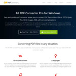 All PDF Converter Pro – AU $19.50 (50% off) & PDF Compressor V3 – AU $10.40 (50% off) + Two Freebies