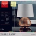 Stylish Verve Design Table Lamp. Reduced to $9 at Bunnings Ashfield NSW