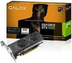 Galax GTX 1050 OC 2GB Low Profile Graphics Card $140 Delivered @ Futu Online's eBay