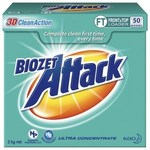 Biozet Attack Front & Top Loader Laundry Powder 2kg $10 (Save $12) at Coles