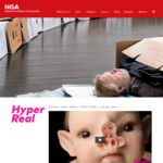[ACT] 2 for 1 Tickets to Hyper Real Exhibit $30 @ NGA Canberra