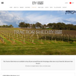 Tractor Shed: 93pt Adelaide Hills Export Label Sauvignon Blanc 2017. $85/Doz Inc Free Shipping