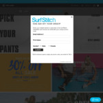 Take an Extra 30% off All Sale Items @ SurfStitch