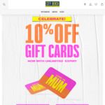 10% off Gift Cards @ City Beach