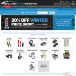20% off Car and 4X4 Parts @ Online Auto Parts (Exclusions Apply)