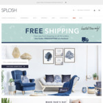 Free Standard Delivery with No Minimum Spend @ Splosh.com.au