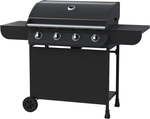 Contempo 4 Burner Hooded Gas Barbecue $159 Save $40 @ Big W