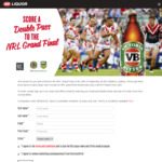 Win a $700 VISA Gift Card & NRL Grand Final Double Pass Worth $400 from IGA Liquor