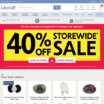 40% off Everything Storewide or Online @ Lincraft (Exclusions Apply)
